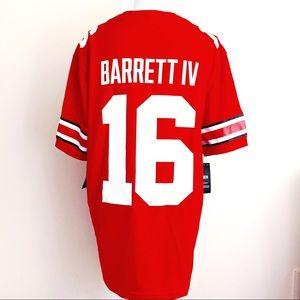 🆕Nike Ohio State Buckeyes Barrett Football Jersey